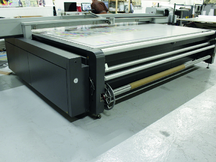 Machine d'impression de supports rigides SwissQPrint